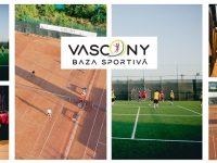 Baza sportivă VASCONY – sport și relaxare în cele mai bune condiții / tenis de câmp, fotbal, tenis cu piciorul