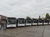 Ultimele 12 autobuze Mercedes Citaro Hybrid din lotul de 40 au ajuns la Târgoviște