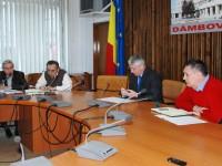 Întâlnire la sediul CJD pe proiectul european de reabilitare a infrastructurii de apă și apă uzată din județul Dâmbovița