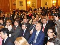 FOTO: Deputatul Ionuț Săvoiu, prezent la dezbaterea care l-a avut drept invitat pe fostul consilier al lui Tony Blair, Lordul Peter Mandelson
