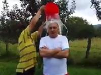 Vicepreședintele CJD, Ioan Marinescu, a intrat în provocarea ICE BUCKET CHALLENGE!