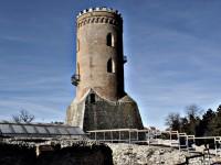 Turnul Chindiei, închis temporar vizitatorilor din cauza poleiului
