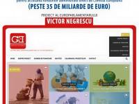 Europarlamentarul Victor Negrescu a lansat o platformă online pentru accesarea fondurilor gestionate direct de către Uniunea Europeană