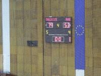 Victorie clară pentru CSM Târgoviște în primul meci al semifinalei cu ICIM Arad: 79 – 53 (22-13, 22-17, 17-16, 18-7)