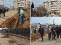 După ani de indiferență, Primăria Târgoviște intră și în cartierul Prepeleac. 7000 mp de străzi și trotuare în lucru!