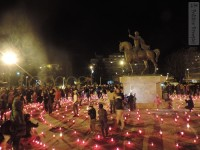 FOTO: CALEA LUMINII 2016, tradiția unui drum din mii de lumânări aprinse în Joia Patimilor!
