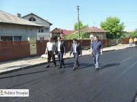 Târgoviște (foto): Se toarnă asfalt în cartierul Matei Voievod, prima intervenție din ultimii 20 de ani!
