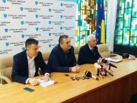 Academicianul Octavian Popescu, întâlnire de lucru cu administrația județului pe tema apei de la Pucioasa!