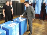Ciprian Prisăcaru a votat. Mesajul candidatului PNL pentru Primăria Târgoviște
