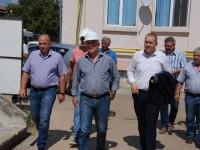 Vizită de lucru: Se lucrează la Dispensarul TBC din Târgoviște; finalizare cel târziu la 1 octombrie!