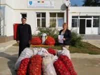 Parohia Puntea de Greci, sprijin alimentar pentru Complexul de Servicii Sociale Găești!