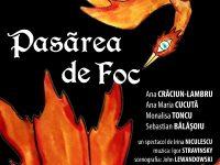 """Teatrul Tony Bulandra, Târgoviște, 3 martie: Premieră """"Pasărea de foc"""" și lansare de carte!"""