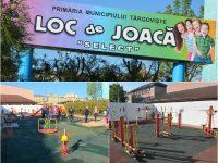 Târgoviște: Dintr-o groapă cu buruieni și gunoaie – loc de joacă modern și fitness în aer liber, lângă Piața Select (foto)