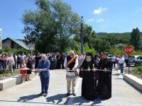 A fost inaugurat drumul ce duce din Vulcana Băi la Mănăstirea Bunea!