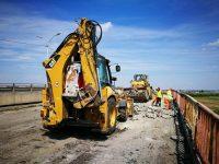 Au început lucrările la centura municipiului Târgoviște! Primul obiectiv abordat: pasajul Petru Cercel (foto)