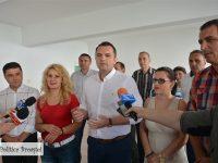 Târgoviște: Avansează lucrările de reabilitare a grădiniței nr. 16 din microraionul 4. În toamnă va fi gata!