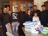 Rechizite pentru copiii Centrului Social Creștin al Arhiepiscopiei Târgoviștei