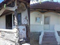 Solidaritate creștină la Gheboieni: Casa unui localnic, renovată, după ce a fost distrusă de foc!