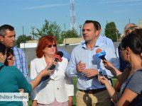 Bază sportivă nouă și lucrări de reabilitare la Liceul Tehnologic Transporturi Auto din Târgoviște