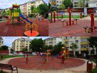 Târgoviște: A fost finalizat noul loc de joacă din micro 3, în spatele blocurilor C1 – C5 (foto)