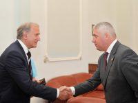 Vicepreședintele Senatului, Adrian Țuțuianu, întâlnire cu delegația Ministerului Justiției din Croația