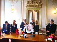 Primarul din Castellon de la Plana, vizită oficială la Târgoviște (foto + declarații)