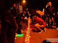 Târgoviște: Calea Luminii a însuflețit din nou orașul cu mii de lumânări! (foto)