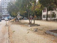 Târgoviște: Parcare nouă în zona străzii Nicolae Iorga; 40 de locuri în plus!
