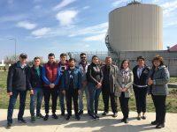 Ziua Mondială a Apei – elevi și studenți au mers la Stația de Epurare Târgoviște – Sud
