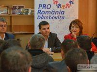 Daniel Constantin, vizită în Dâmbovița: Legea cooperativelor a fost deturnată (declarații pe larg)