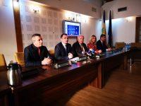 Protocol de colaborare Primăria Târgoviște – Camera de Comerț / declarații Cristian Stan și Valentin Calcan