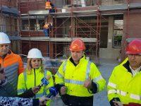 Vizită de lucru pe șantierul Creșei nr. 13 din Târgoviște / lucrările vor fi gata cu cel puțin 6 luni în avans