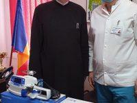 Donație: Două injectomate de la Arhiepiscopia Târgoviștei către Spitalul Județean
