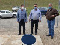 PUCIOASA: Apă curată din munte de la 1 iunie / astăzi s-a făcut recepția finală a lucrărilor pentru noua aducțiune
