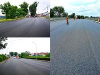 Pasajul rutier către Aninoasa a fost asfaltat / primul mare tronson de centură este aproape gata