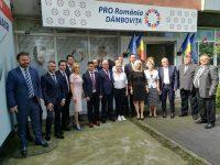 PRO ROMÂNIA și-a prezentat echipa de candidați pentru Consiliul Local Municipal Târgoviște