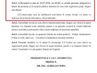 Dâmbovița: Proiect prin care măștile vor fi obligatorii în piețe, târguri, oboare (detalii)