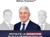 Adrian Țuțuianu (PRO ROMÂNIA) îi provoacă pe candidații PSD și PNL la o dezbatere publică în fața dâmbovițenilor (detalii)