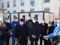 Spitalul Moreni: Container special în locul corturilor, pentru triajul pacieților suspecți de Covid