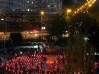 Calea Luminii a însuflețit din nou municipiul Târgoviște (foto)