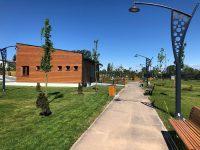 Târgoviște, galerie foto: Parcul de lângă mall e gata! Când se va deschide