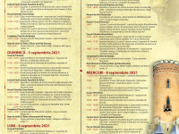 PROGRAMUL COMPLET de Zilele Cetății / Târgoviște, 4-8 septembrie