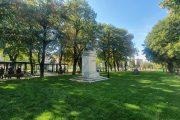 Târgoviște, ZILELE CETĂȚII: Parcul Mitropoliei a fost redeschis / cum arată după reabilitare