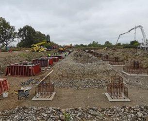 Târgoviște: Se construiește viitoarea autogară a municipiului / foto șantier și detalii proiect
