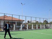 Dâmbovița: Primul obiectiv finalizat prin PJDL – teren de sport la Raciu (foto)